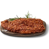 Skinkeflanksteak m. barbecuemarinade