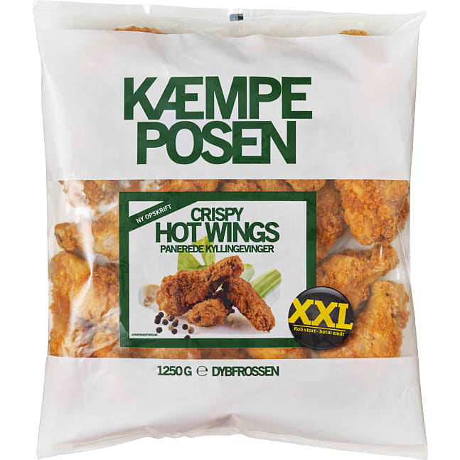 Panerede hot wings